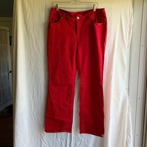 Red faded glory jeans